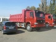 Продажа самосвалов  Хово,  Howo  в Омске самосвал 6х4 25 тонн ,  2300000 руб в наличии