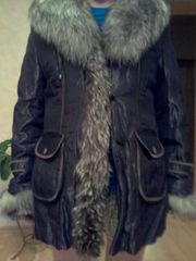 Куртка женская, на лисьем меху