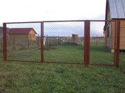 Ворота и калитки распашные,  профлист от производителя