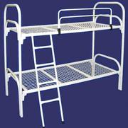 Кровати трехъярусные металлические,  кровати двухъярусные для общежитий