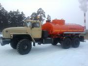 Продам Автотопливозаправщик  АТЗ-10 на шасси Урал в Твери