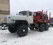 Продам Лесовоз Урал 43204 с площадкой в Твери