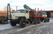Продам Лесовоз Урал 43204 с манипулятором и роспуском в твери