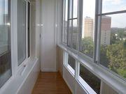 Остекление балконов, лоджий.Установка окон,  входных дверей