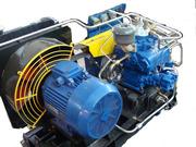 Воздуходувка промышленный компрессор 2АФ53Э51Ш