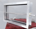 Воздушный клапан приточно-вытяжной вентиляции от Дулан