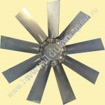 Крыльчатка осевого вентилятора алюминий